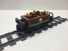 LEGO Gold & Ore Freight Car for #10194 Emerald Night. Very nice all new parts