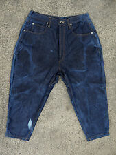 Rare RAIF Adelberg Spring Summer Drop Crotch Darted & Cropped Jeans (fits 31-32)