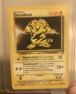 ELECTABUZZ - 24/130 - BASE SET 2 - RARE - Pokémon TCG WOTC PL