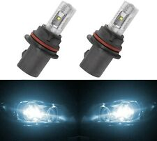 LED 30W 9007 HB5 White 6000K Two Bulbs Head Light Replace Show Use Off Road