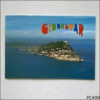 Gibraltar Aerial View 1986 Postcard (P499)