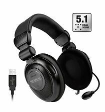 Speedlink MEDUSA NX USB 5.1 Surround Gaming Headset Kopfhörer Mikrofon F24-69610