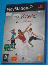 Eye Toy Kinetic - Sony Playstation 2 PS2 - PAL New Nuovo Sealed