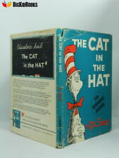 Cat in the Hat 1st/3rd Dust Jacket 1957 Dr. Seuss Beginner Book First Edition