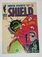 Nick Fury, Agent of Shield #5 1968 Silver Age Marvel Comics VF