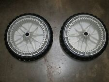 "OEM Toro self propelled Lawnmower front drive Wheels  8""  119-0311  (Set of 2)"