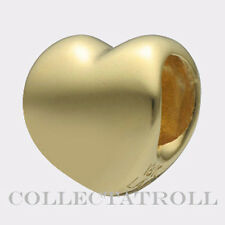 Authentic TrollBeads 18K Gold Heart Trollbead 21310 *LAST ONE*