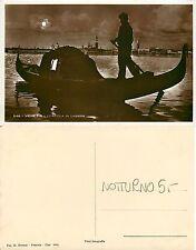 Venezia - Gondola in Laguna - Notturno (S-L XX126)