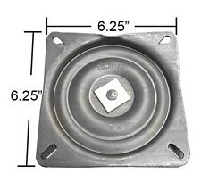 "HD Bar Stool Swivel Plate w/ 3 Degree Pitch Angle - 6.25"" - Made in USA - S4694"