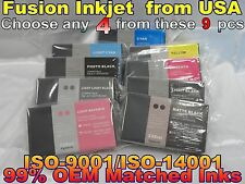 Choose Any 4 pc compatible cartridge fits Epson Stylus Pro 7880 9880 ink tank