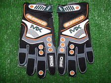 Buffalo MX motocross EnduroTrials Off road gloves ktm orange stretch fit size XL