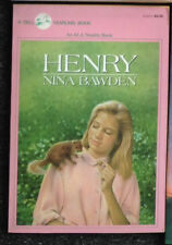 3 Nina Bawden Books The House of Secrets & A Handful of Thieves & Henry Squirrel