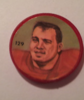 Nally's Chips (1963) - CFL Picture Discs - Harold Krebs - #129 of 100 -- Rare