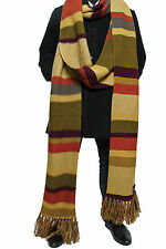 More details for doctor who scarf season 16 - official bbc long tom baker scarf - lovarzi