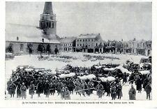 1.WK. Feldbäckerei in Pillkallen Ostpreußen vor dem Ausmarsch nach Rußland 1915