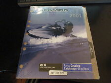 NEW Sea Doo OEM 01 Parts Catalog Manual GTX DI 5528 5529 5540 5541 219-301-020