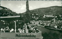 Ansichtskarte Philosophenhöhe Heidelberg 1961  (Nr.936)