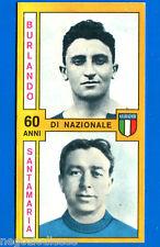 CALCIATORI PANINI 1969-70 - Figurina-Sticker - BURLANDO-SANTAMARIA NAZIONALE-Rec