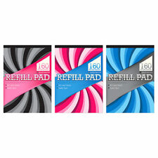 A4 REFILL PAD LINED QUALITY PAPER - FEINT RULED - TOP BOUND - 6314