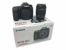 NUOVO Canon EOS 80D macchina fotografica con lenti STM 18-55 IS UK consegna il giorno successivo