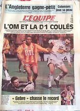 L'Equipe Journal 21/2/1999; Coupe de France/ Colomiers/ Gebreselassie Haile