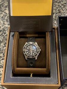 Breitling Men's A17365C9-BD67-150S Superocean II 42 Automatic Black Rubber Watch
