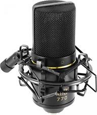 Condenser Microphone MXL 770 Cardioid Studio Sound Recording Shock Mount w/ Case