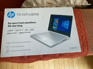 "New HP 14-DQ2031TG Intel i3-1125G4 3.7Ghz/4GB/128GB/14.1"" Free US shipping"