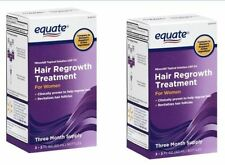 Equate Hair Regrowth Treatment for Women Minoxidil 2% Extra Strength, 6 Month