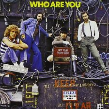THE WHO - WHO ARE YOU: REMASTERED CD ALBUM (1996)