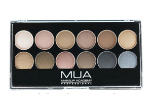MUA 12 Shade Eyeshadow Palette ~ Undressed