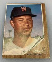 1962 Topps # 79 Ed Hobaugh Baseball Card Washington Senators