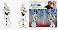 "Disney Frozen 2 Earring Set Olaf Earrings Featuring Olaf ""Head"" and ""Body"""