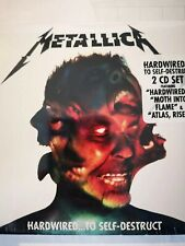 Metallica - Hard Wired To Self Destruct - Brand New and Sealed 2 x CD
