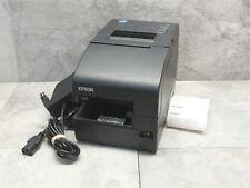 Epson Tm H2000 Pos Dual Function Powered Usb Receipt Printer Ac Adapter