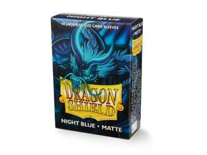 Japanese Matte Night Blue 60 ct Dragon Shield Sleeves YuGiOh Size 10% OFF 2+