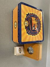 Fossil Pocket Watch 00400/10000 1998 Express Collectors Club LE-9492