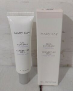 Mary Kay Ivory 104 Full Coverage Foundation Normal to Dry Skin Gray Cap RARE