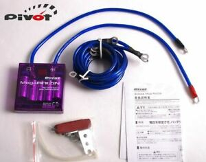 PIVOT Mega RAIZIN Volt Stabilizer Power Booster Fuel Saver with LED