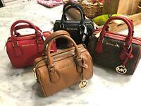 Michael Kors Giftables Bedford XS / Mini Duffle Satchel Crossbody Bag $298 New