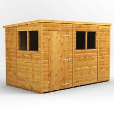 10x6 Power Pent Garden Shed | Power Sheds | Wooden | Super Fast 2-3 Day Delivery