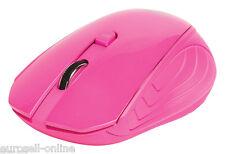Sweex USB Funkmaus 2.4GHz wireless Mouse PC Maus pink rosa Pc Funk Laptop NEU