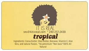 IT IS REAL- Crack A Smile Lip Balms - 5 tropical