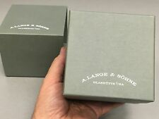 VERY NICE A. LANGE SERVICE WRIST WATCH INNER & OUTER DISPLAY BOXES - BUY IT NOW!