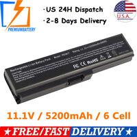 6cell Battery For Toshiba Satellite PA3817U-1BRS L700 L735 L740 L745 L755 L755D