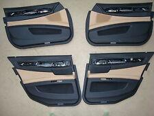 BMW F01 Pannello Porta Anteriore pelle Dak. Venetobeige