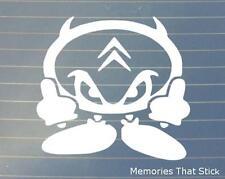 Citroen Devil Man Car Window Bumper Saxo C3 DS3 C3 C1 DS4 Vinyl Decal Sticker