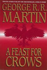 A FEAST FOR CROWS by George R.R. Martin  hardcover book  GAME OF THRONES book 4
