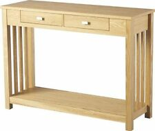 Wood Veneer Hallway Traditional Console Tables