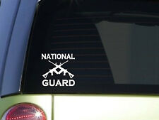"""National Guard 6"""" sticker *F105* decal police miltary army navy marine air force"""